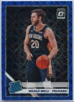 2019-20 Donruss Optic Basketball Blue Velocity Nicolo Melli RATED ROOKIE #163