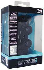 PS3 Playstation 3 Controller Wireless Pro Power Pad Bluetooth 3 TWO DOTS