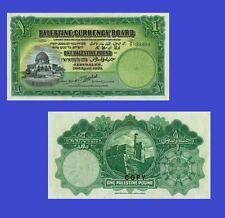 PALESTINE. Palestine Currency Board. 1 Pound, 20.4.1939. UNC - Reproduction