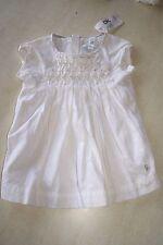 Robe blanche neuve taille 6 mois marque Obaïbi