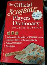 Official Scrabble Players Dictionary by Merriam-Webster, Inc. - QUANTITY 5