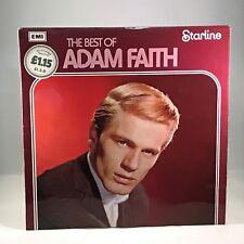 ADAM FAITH The Best Of 1970s UK Vinyl LP EXCELLENT CONDITION