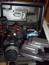 JVC COMPACT VHS VIDEOMOVIE GR-323U 8X DIGITAL SUPER IMPOSE SYSTEM BUNDLE + TDK