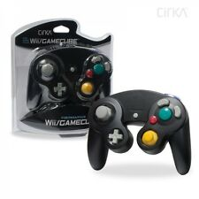 Black Shock Game Controller Pad for Nintendo Gamecube GC Wii NEW