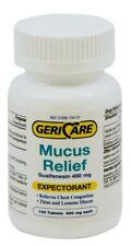 Guaifenesin Expectorant Mucus Relief 400mg Tablets 100ct