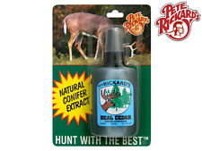 PETE RICKARD - NEW 2 OZ. REAL CEDAR HUNTING COVER SCENT - LH531 - MADE IN U.S.A.