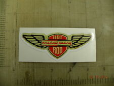 "Vintage American Racing Wheels Wings sticker decal 4.1""x1.6"""