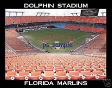 Florida Marlins - DOLPHIN STADIUM - Souvenir Flexible Fridge Magnet