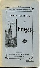 GUIDE ILLUSTRE DE BRUGES - Belgique