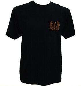 T-Shirt Marine schwarz,Marine der Bundeswehr,Anker,Seemann,Bundesmarine,Flotte