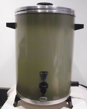 Vintage Avocado West Bend Party Perk 12 to 30 Cup Automatic Coffee Pot No. 33525