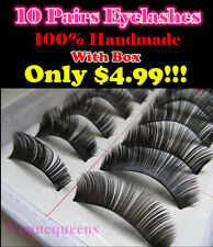 Brand New 10 Pairs High Quality Long Thick False Eyelashes Extensions116#