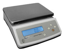 """Intelligent PC-20001 Lab Balance 20,000 x 0.1g Scale,RS232,Counting,10""""X7.5"""",New"""