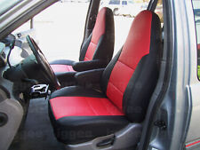 DODGE CARAVAN 2001-2007 LEATHER-LIKE CUSTOM SEAT COVER