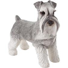 ♛ SANDICAST Dog Figurine Sculpture Schnauzer
