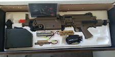 A&K M249 Para Dark Earth Airsoft Machine Gun (Read the Description)