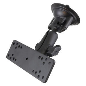 """RAM Twist-Lock Suction Cup 1"""" Ball Mount with Universal Electronics Plate"""