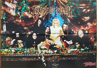 ⭐⭐⭐⭐  █▬█ Ⓞ ▀█▀  ⭐⭐⭐ Cradle Of Filth ⭐⭐ Kiss ⭐⭐ 1 Poster ⭐⭐ 28,5 x 40 cm  ⭐⭐⭐