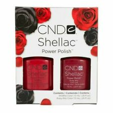Creative Cnd Shellac Perfect Pair - Wildfire & Ruby Ritz Duo .25 oz