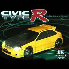 ABC Hobby HONDA CIVIC TYPE R EK9 190mm Body Set 4WD RC Cars Touring Drift #66086