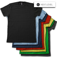 Next Level Apparel Blank T-Shirt - Super soft, Ring Spun Vintage Weight Tee