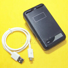 Fast Charging USB/AC External Charger Micro USB Cable 3ft f LG V10 4G LTE Net10