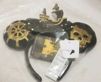 Disney MINNIE MOUSE Main Attraction Ears Headband PIRATES OF THE CARIBBEAN New