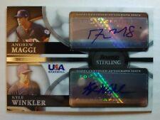 2010 Bowman Sterling Andrew Maggi / Kyle Winkler Collegiate Team dual autograph