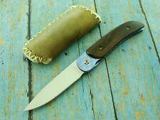 DAVE RICKS 1097 USA HAND MADE CUSTOM FOLDER GENTLEMANS POCKET KNIFE TOOL KNIVES