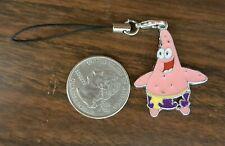 New Spongebob's Patrick Star Enamel Cell Phone Charm Strap