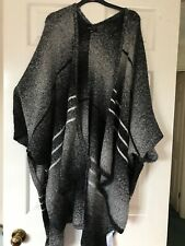 Fantastic Black,Grey & White Large Cardigan/Shawl From New Look - One Size