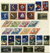 ROMANIA Complete Sets Postage Stamp Collection Used