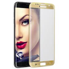 Cristal Templado Vidrio 3D para Samsung Galaxy S6 Edge Plus G928 - oro