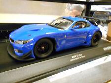 BMW z4 gt3 e89 GT Masters droife 24h plainbody Bleu Blu street 2012 Minichamps 1:18