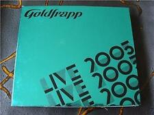 Slip Double: Goldfrapp : Live 2005  The Refectory Leeds University England