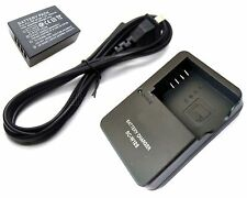 Battery + Charger for NP-W126 Fujifilm Finepix HS30EXR HS33EXR HS35EXR HS50EXR