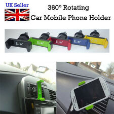 360° Rotating Car Mobile Phone Air Vent Mount Holder Stand Cradle width 5.5-8cm