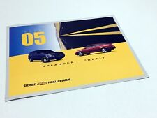 2005 Chevrolet Uplander Cobalt Launch Preview Brochure