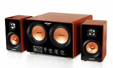 Hipoint Audio 2.1 Surround Sound Speaker sistema con Bluetooth USB y remota
