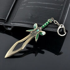 Cool Dota 2 Keychain Alloy The Butterfly Sword Key ring Keychain Cosplay Gift FT