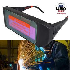 Solar Auto Darkening Welding Glasses Welder Mask Helmet Eyes Goggle For Welding