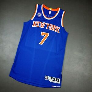 100% Authentic Carmelo Anthony 2015 Knicks Game Jersey Size L +2 Mens