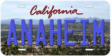Anaheim California Novelty Car License Plate P01