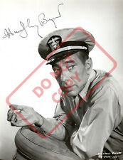 8.5x11 Autographed Signed Reprint RP Photo Humphrey Bogart
