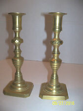 """Candlestick made in England brass 8 3/4"""""""