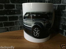 RANGE ROVER EVOQUE- CERAMIC MUG - IDEAL GIFT - PERSONALISED IF REQUIRED