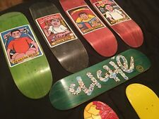 Lot Of Wood Handboard Wooden Hand Board F@cked Up Blind Kids Almost Tech Deck