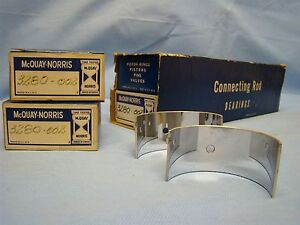 1946 47 Ford 226 Connecting Rod Bearing Set 002 Super Deluxe Six Series 6GA 7GA