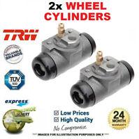 2x TRW Ruota Freno Cilindri per Citroen Zx 1.6 1994-1997