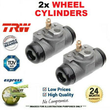 2x TRW WHEEL BRAKE CYLINDERS for PEUGEOT 207 SW 1.4 2007-2012